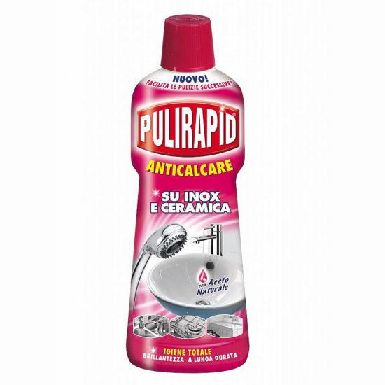 Засіб проти накипу з оцетом Pulirapid Anticalcare Aceto 750 мл