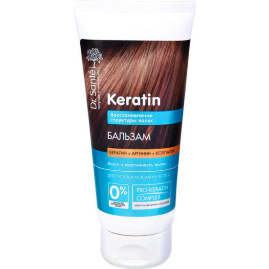 Бальзам для волосся Dr.Sante Keratin 200 мл