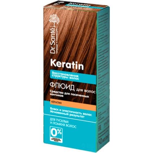 Флюїд для волосся Dr.Sante Keratin 50 мл