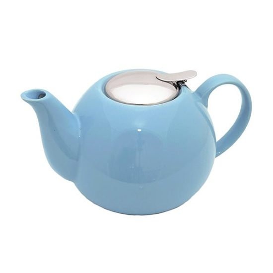Чайник FISSMAN заварювальний керамічний 1250 мл (блакитний колір)