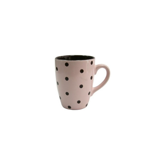 Кухоль 320мл Milika Funny Dots Cream