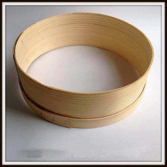 Сито з металевою решіткою та дерев'яним обідком d=24см Kamille 10100