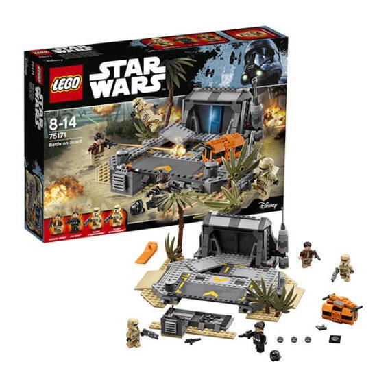 Конструктор LEGO Star Wars Битва на Скарифі 419 деталей (75171)