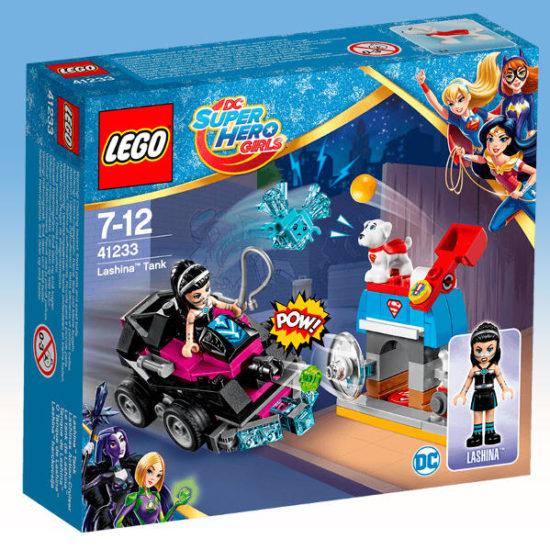 Конструктор LEGO DC Super Hero Girls Танк Лашини 145 деталей (41233)