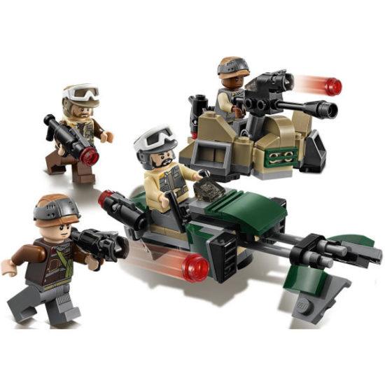 Конструктор LEGO Star Wars Бойовий набір Повстанців 120 деталей (75164)