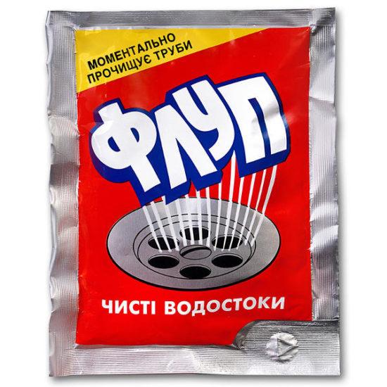 Флуп для чищення труб (гаряча вода) 60 гр