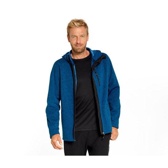 Чоловіча трикотажна куртка з капюшоном розмір S TCHIBO T-320499