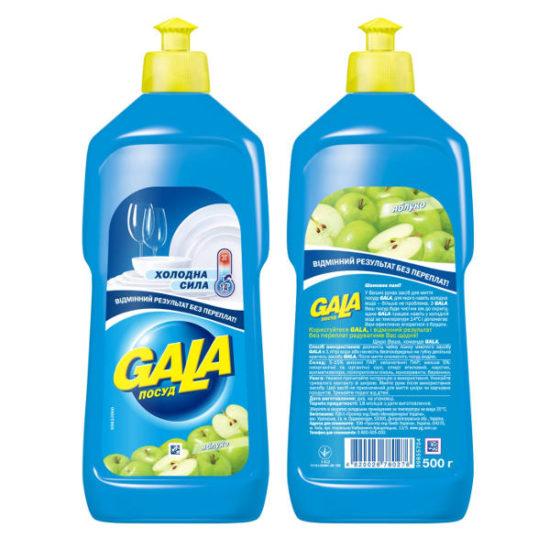Засіб для миття посуду Gala Яблуко 500 мл
