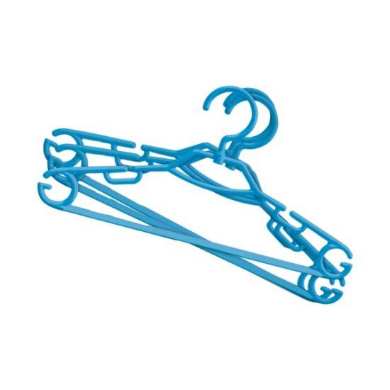 Вішалка для одягу пластмасова, обертається, МІНІ 6 штук, York 067020