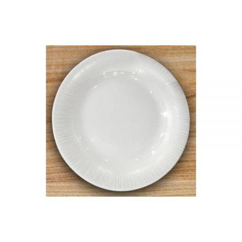 Тарілка глибока супова кругла 24см Astera White Queen, A0160-16111