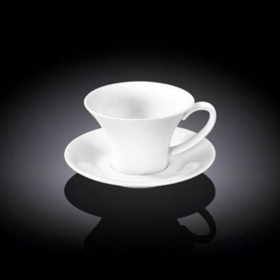 Чашка кавова&блюдце 100мл Wilmax