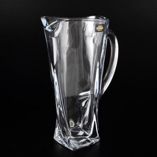 Глечик для напоїв 700мл Bohemia Quadro