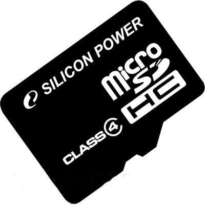 Карта пам'яті 32 GB SILICON POWER microSDHC Class4 без адаптера