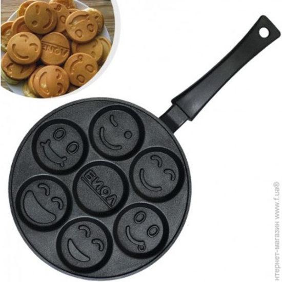 Сковорода оладниця 24 см без кришки СО-24П