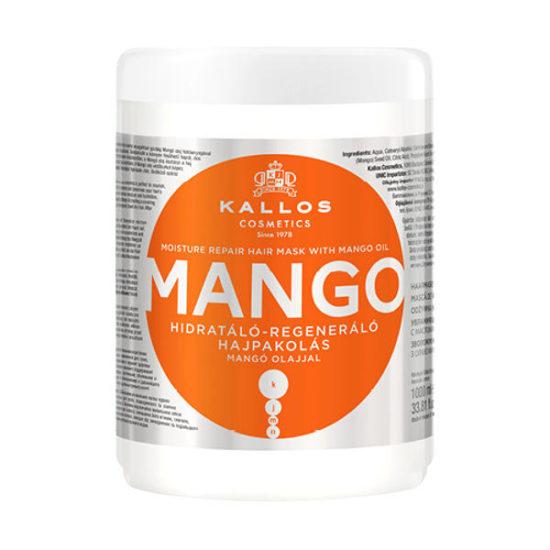 Маска для волосся Kallos KJMN Mango зволоження та відновлення 1л